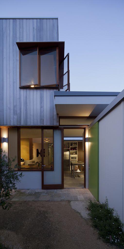 (c) Brett Boardman Architecture, Timber, Western Red Cedar, Elevation, Windows, Indoor/Outdoor, Sydney, Bondi Beach