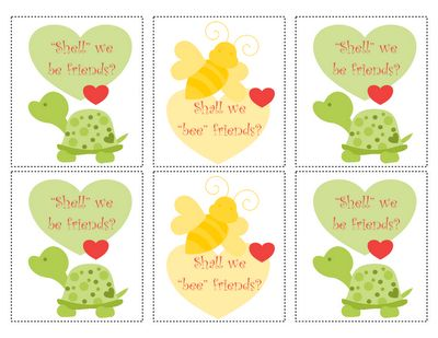 Valentines: Simple Friendship, Diy Printable, Turtles Valentines, Friendship Cards, Holidays Valentines, Friends Valentines, Friendship Valetin, Animal Valentines, Valentines Friendship