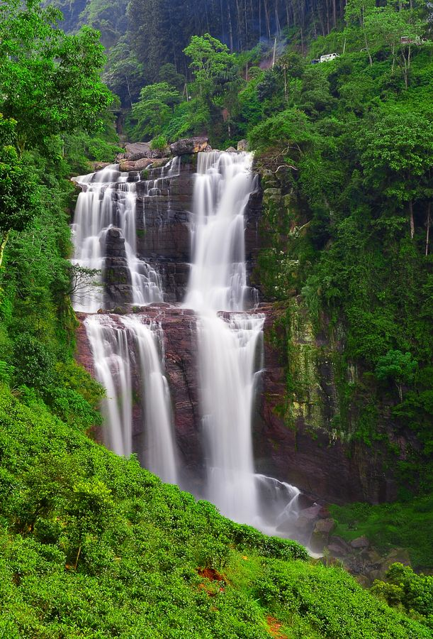 #39 Ramboda Falls, Sri Lanka. It's a 109m high beautiful waterfall and the 11th highest waterfall in Sri Lanka