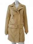 Short coat, low-waist cutted with raw cutted seams. Short coat, low-waist cutted with raw cutted seams. On Sale at DressSpace.com .EUR 179.00