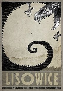 Lisowice, plakat z serii Polska, Ryszard Kaja