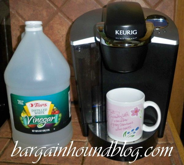 How to easily clean your Keurig coffee maker & make it run like new again! Home Pinterest ...