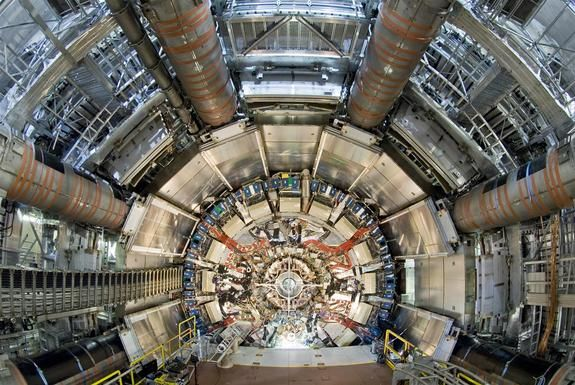 The ATLAS experiment at the Large Hadron Collider is one of the machine's two all-purpose detectors.