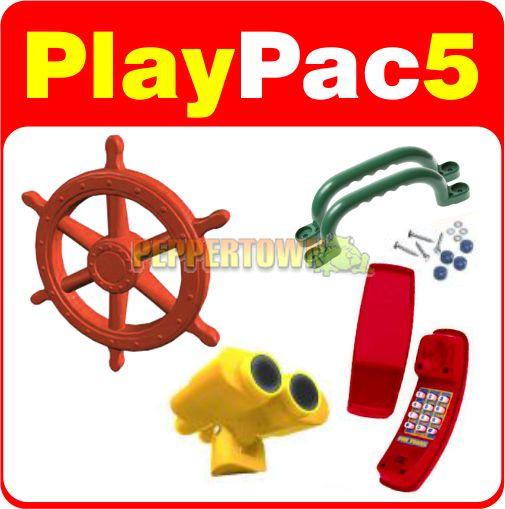 Accessories - Playground Accessory Kits - PlayPac5 Playground Accessories Pack - by PEPPERTOWN online store