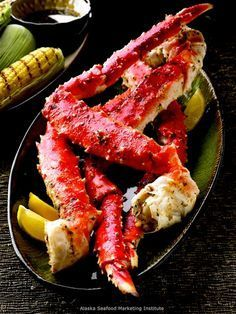 Recipe: Grilled Alaska King Crab Legs (in foil packets) - Recipelink.com