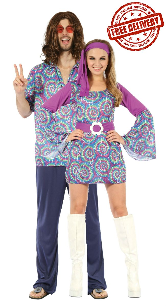 Groovy Hippie Couple