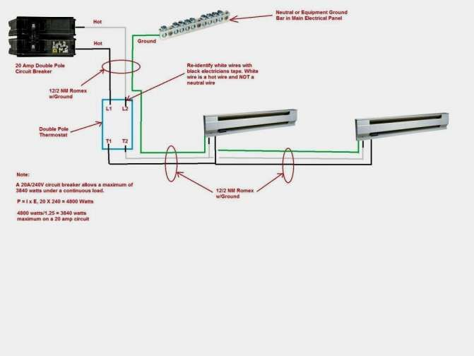 Double Pole Circuit Breaker Wiring Diagram How To Wire | Wire