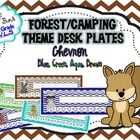 These+forest+animal+nameplates+come+with+4+different+chevron+background+choices.+Each+set+has+upper+and+lower+case+alphabet+(print)+and+number+line...