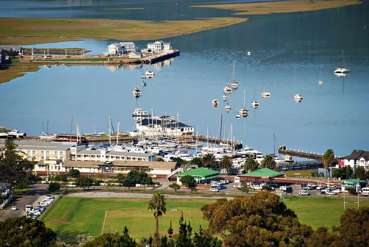 A view of Knysna and the lagoon, South Africa.