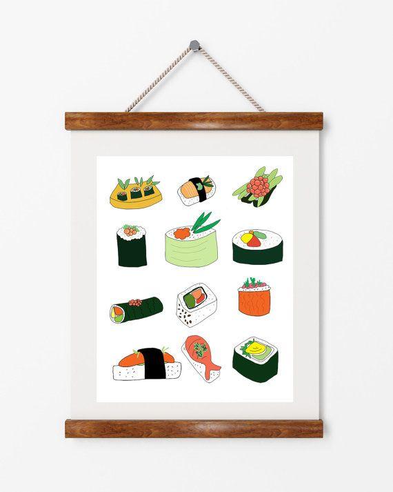 Sushi | ► Keuken | Postersinhuis.nl