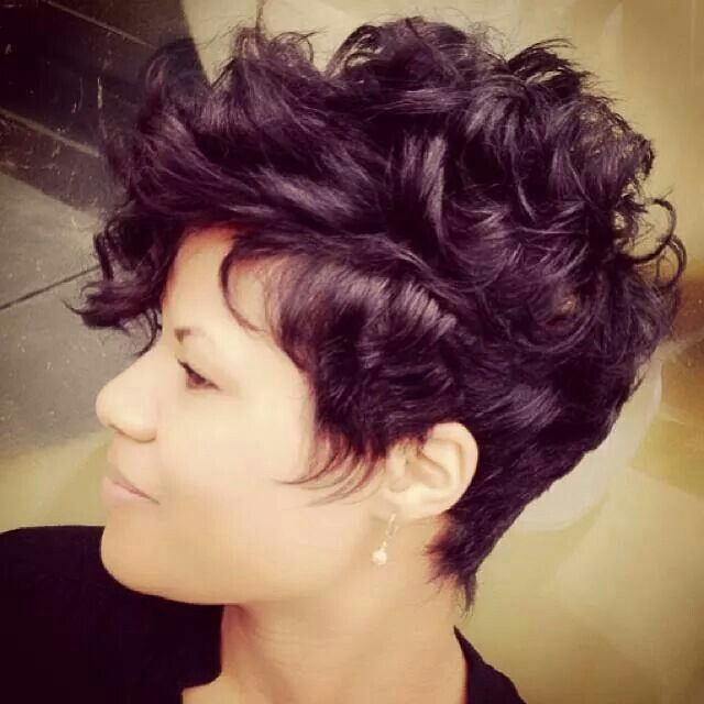 Short Curly Hairstyles 1043 Best Short Curly Hair Images On Pinterest  Hair Cut Short