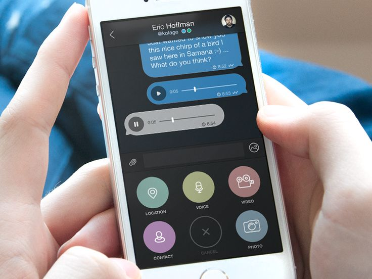 Chat and Attachments by Martin David