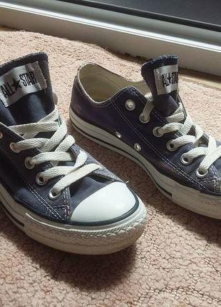 Kup mój przedmiot na #vintedpl http://www.vinted.pl/damskie-obuwie/trampki/18799025-converse-granatowe-trampkiconversy-375-24cm-wkladka