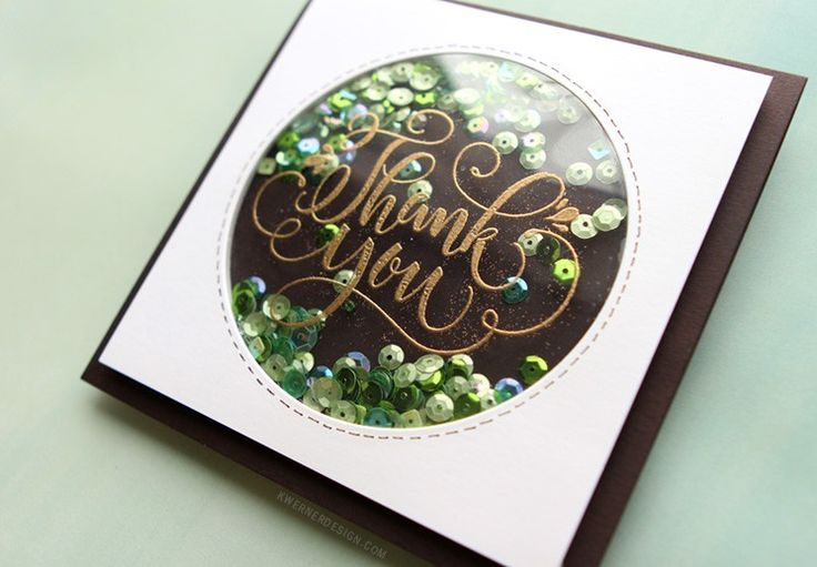 AWESOME Circle Shaker Card Tips! – kwernerdesign blog