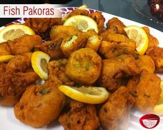 Crispy and spicy ‪Fish Pakoras are a super tasty snack made with white fish like…