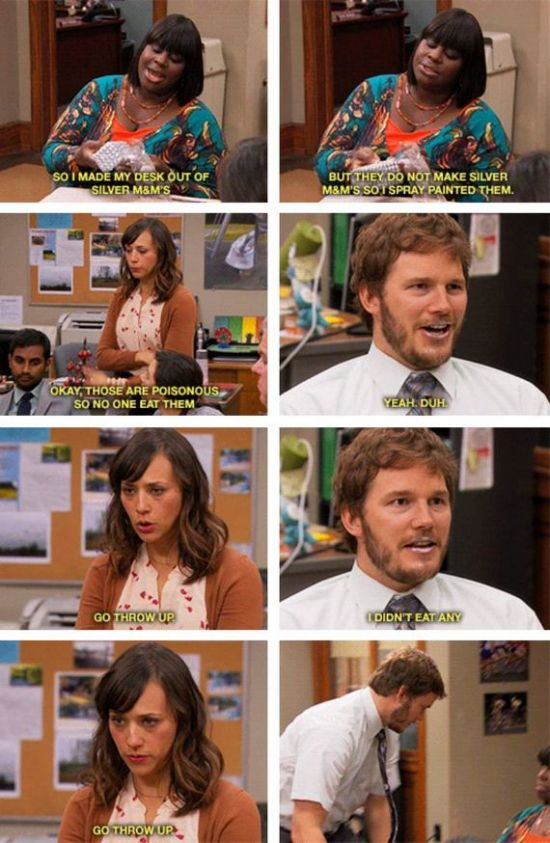 Andy Dwyers greatest moments on Parks and Rec (23 photos) I LOVE ANDY!
