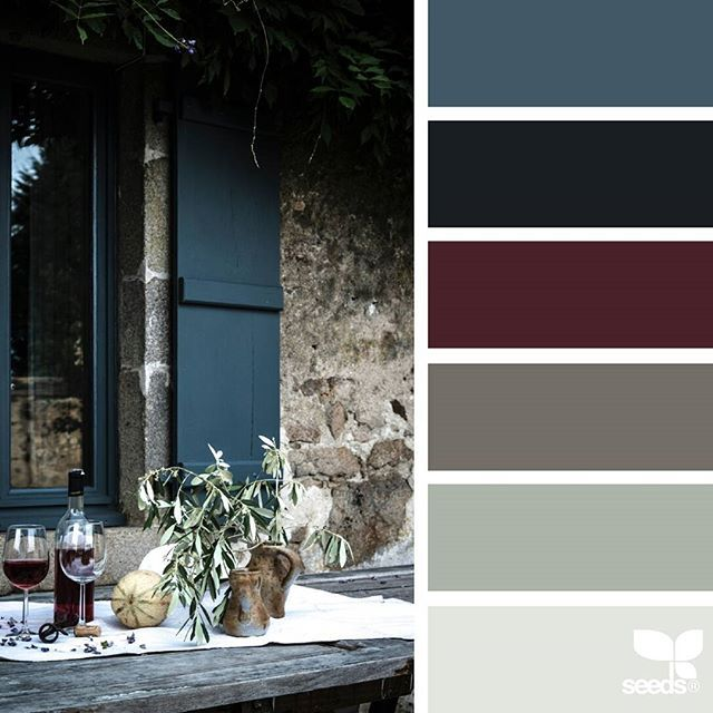 today's inspiration image for { color serve } is by @mademoisellepoirot ... thank you, Carole, for another wonderful #SeedsColor image share!