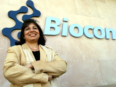 Health Care Reform pioneer - Kiran Mazumdar-Shaw, Biocon founder India's first, largest biotech company - thanks @Jane Wang for the info