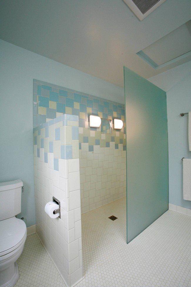 92 Best Doorless Walk In Shower Images On Pinterest