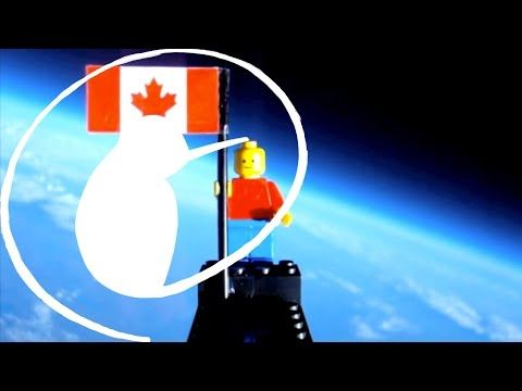 Lego Man in Space - YouTube