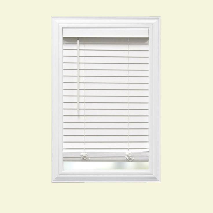 best 25 faux wood blinds ideas on pinterest white. Black Bedroom Furniture Sets. Home Design Ideas