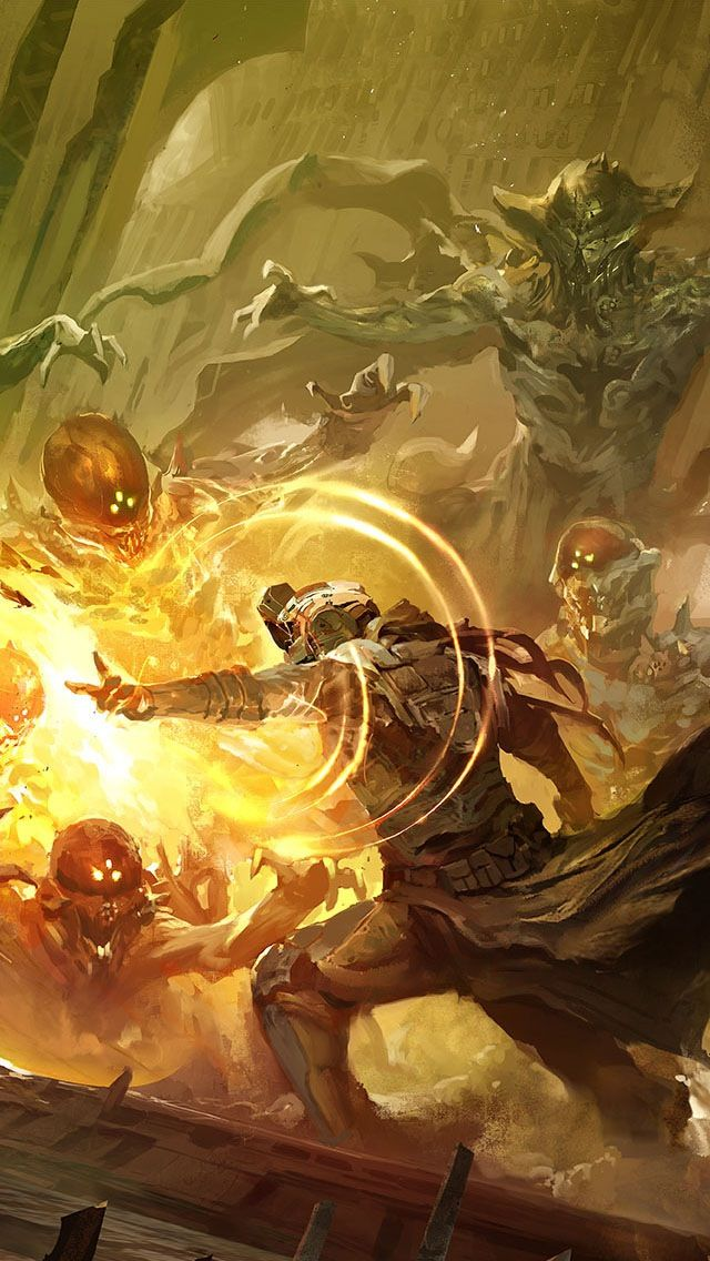 Destiny: Warlock concept art!