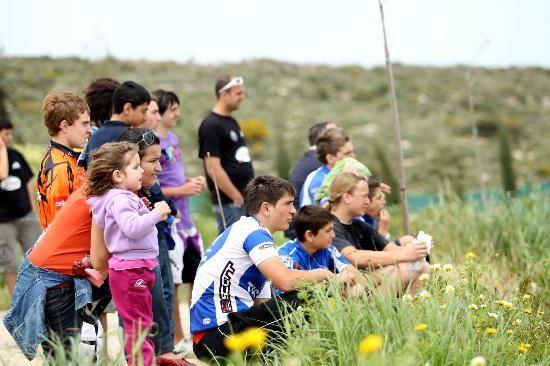 watching #bmx #race @minoancamp