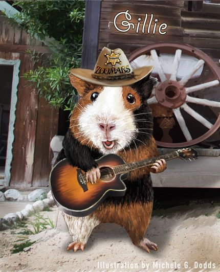 Gillie Guinea Pig Sings For Famous His Girlfriend Gillie Lives At