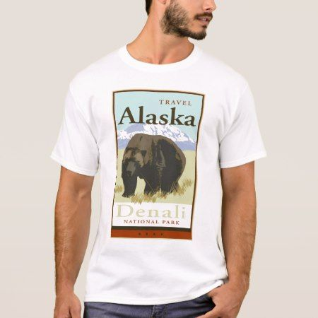 Travel Alaska T-Shirt - tap to personalize and get yours