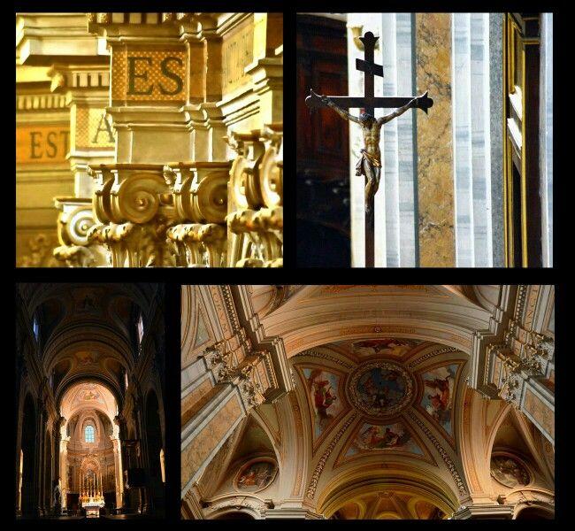 Duomo Sutri con gli occhi al cieo