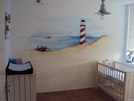 25+ beste ideeën over strand muurschildering op pinterest - oceaan, Deco ideeën