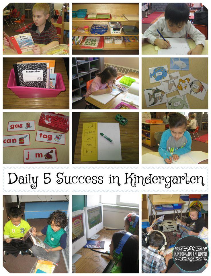 Daily 5 — Kindergarten Kiosk