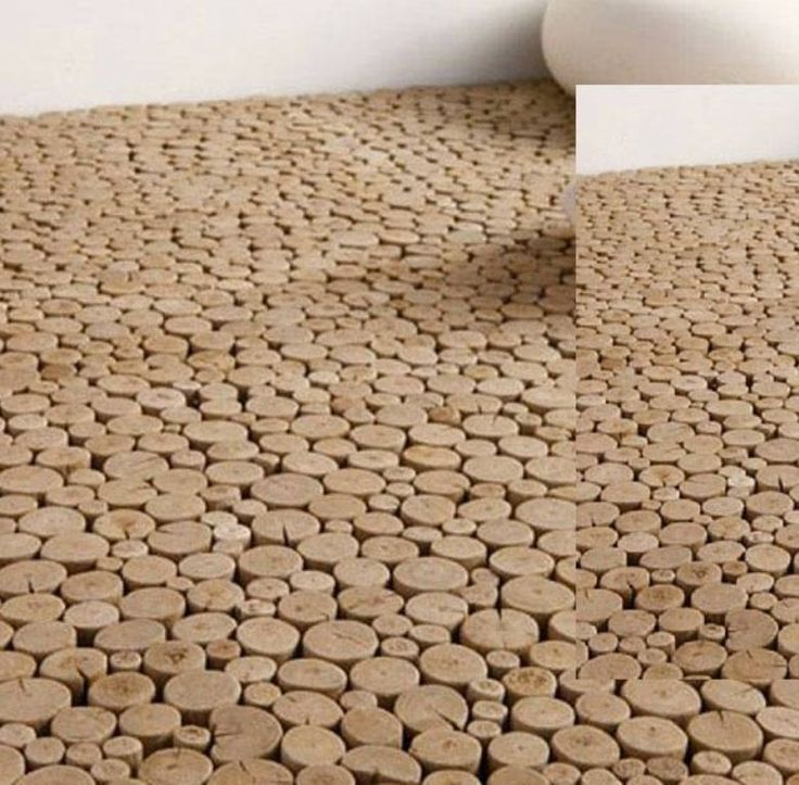 Creative Rough Wood Floor And Wall Tiles By Bleu Nature | DigsDigs