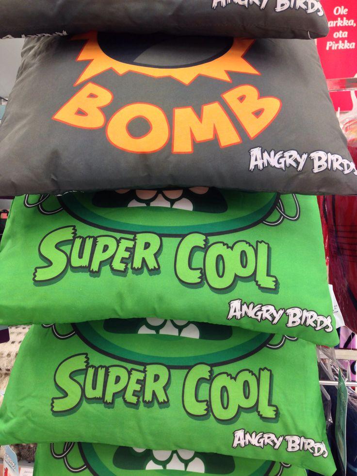 Angry Birds cushions
