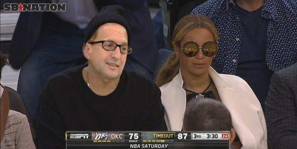 Jeff Van Gundy is more excited to see Beyonce sitting courtside...: Jeff Van Gundy is more excited to see… #BeyonceFormation #Beyonce