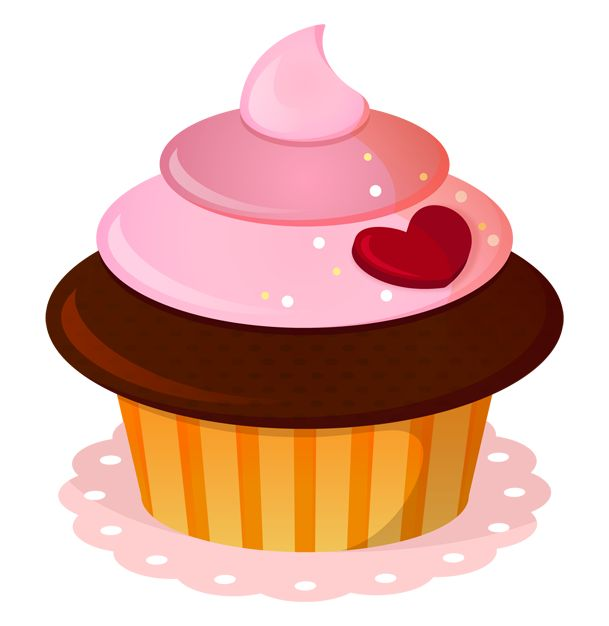342 cupcake clipart