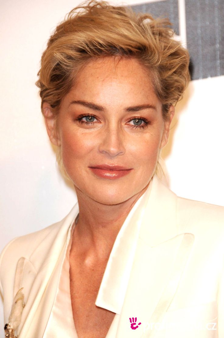 Short+Haircut+Makeover | Prom hairstyle - Sharon Stone - Sharon Stone