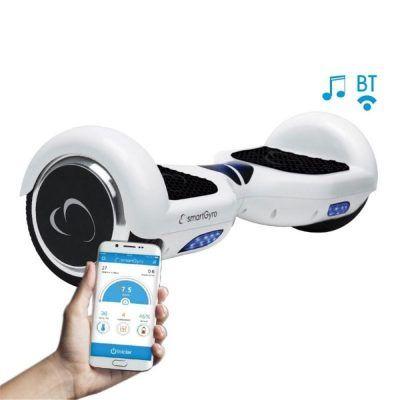 SmartGyroX2, Patinete eléctrico batería Samsung blanco por 237 €  Uno de los juguetes de moda del año pasado, pero esta vez con la garantía de llevar una batería de la conocidísima Samsung, no lo dejéis escapar y haceros con él a un gran precio.   #juguete #patinete #chollos #ofertas
