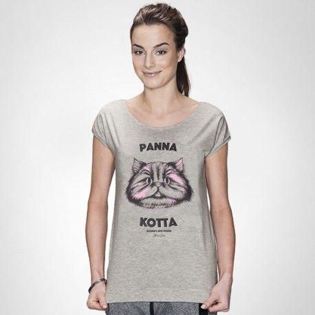 Panna Kotta - damski t-shirt CHRUM - polscy projektanci / polish fashion designers - ELSKA