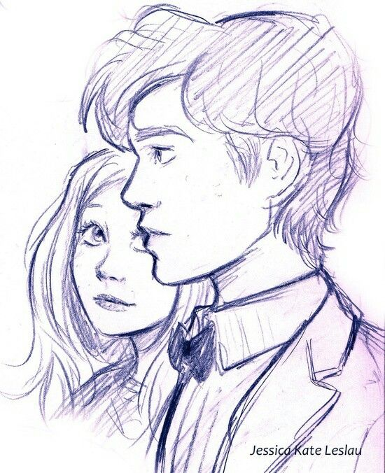 11 anf amy pond drawing