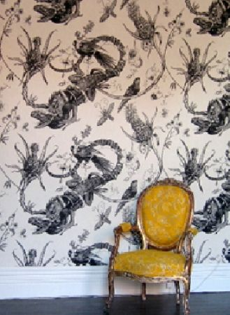LOVE this marigold chair: Decor Object, French Interiors, Amazing Wallpapers, Decor French, Wallpapers Patterns, French Decor, Beasties Boys, Wallpaper Patterns, Wallpapers Design