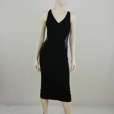 classic slimming black dress