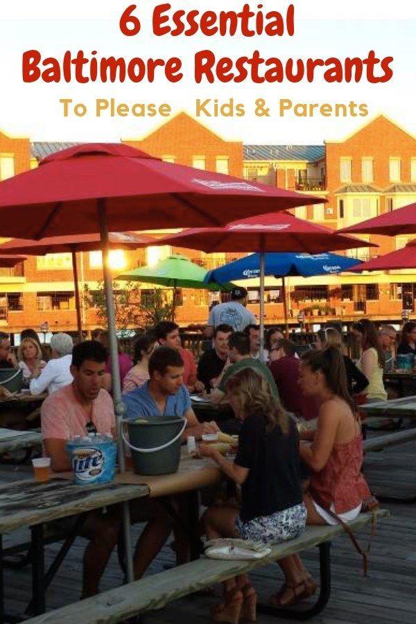 Top Kid Friendly Restaurants In Baltimore Travel With Kids