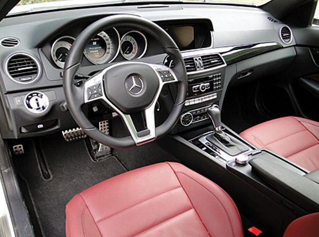 Mercedes-Benz C 350 CGI Coupé  #AutoBildMexico #autos #pruebas