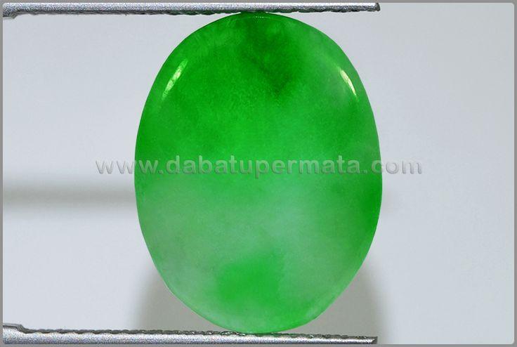Batu Permata GIOK Green Apple - BJD 037
