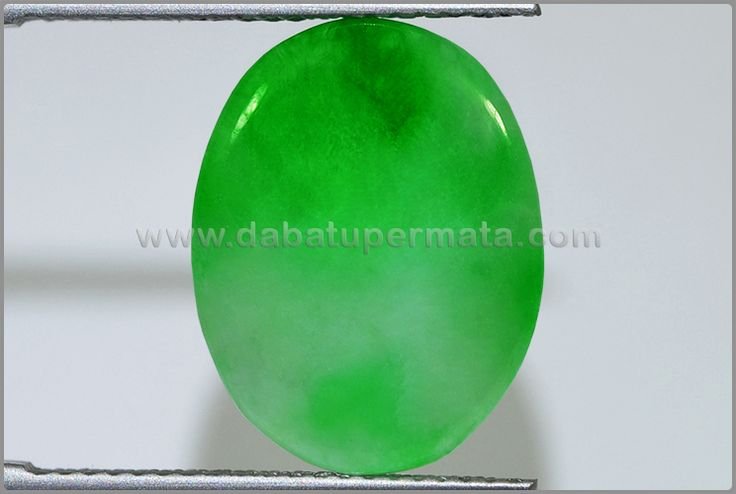 Batu Permata GIOK Green Apple - BJD 037