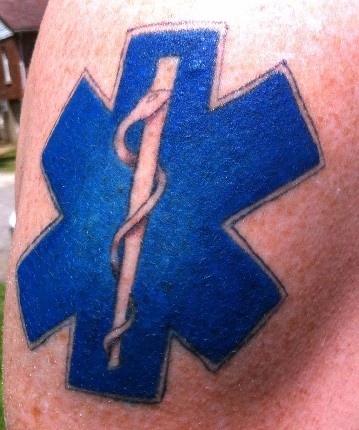 Star Of Life Tatoo: 13 Best Images About Tattoos On Pinterest