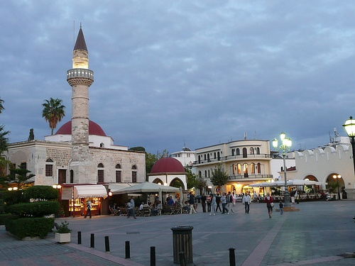 Kos Town - sit here in the evening watching the world go by.....amazing!!