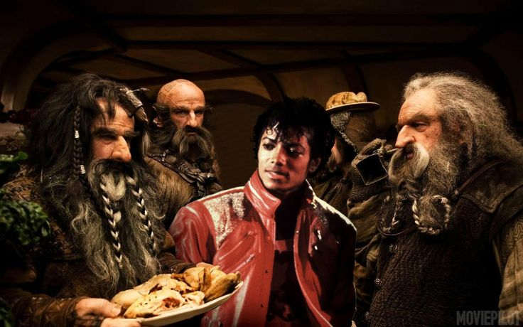 That Time The Dwarves From The Hobbit Sang A Michael Jackson Song @Becky Frazier this is pretty awesome!!