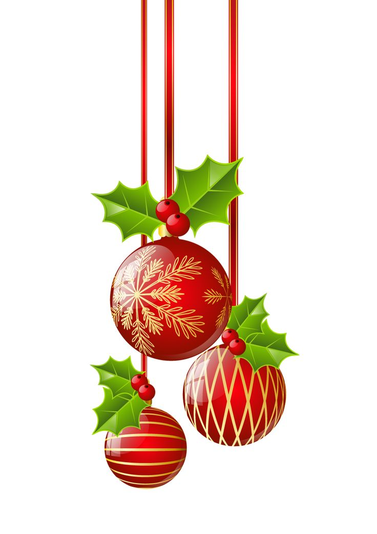117 best clip art ornament images on pinterest for Hanging christmas decorations